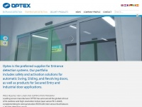 Optex.eu - Optex - Entrance detection and automatic door sensors