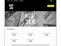 Kopjekshop.com - KOPJEK shop | KOPJEK Clothing