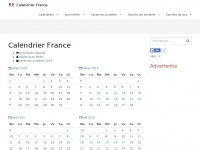 Calendrier-fr.fr - Calendrier France