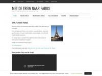 metdetreinnaarparijs.nl