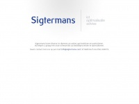 Sigtermans | ict, optimalisatie, advies