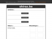 shiraz.be