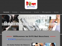 B-fit-neuschanz.de - B-Fit - Startseite