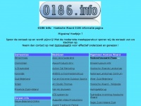 0186 informatie pagina voor de hele hoekse waard bedrijven instellingen en uit eten in 0186 regio