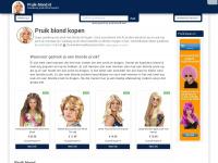 Pruik blond kopen