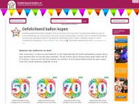 Gefeliciteerd ballon kopen