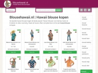 Blousehawaii.nl | Hawaii blouse kopen