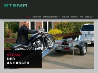 Stema - Motortrailers, Autotransporters, Aanhangwagens en onderdelen