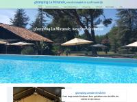 glamping Frankrijk, luxe, kleinschalig