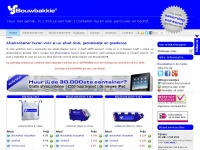 Afvalcontainer huren in heel Nederland | Bouwbakkie.nl