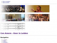 Con-amore.nl - Con Amore - Koor in Leiden - Con Amore koorzang in de regio Leiden