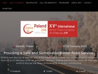 Aipcrgdansk2018.org - AIPCR-PIARC | Safe and Sustainable Winter Maintenance Road Congress / Road Exhibition
