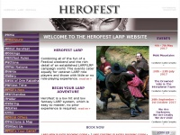 Live-roleplaying.co.uk - LARP HEROFEST - Live Action Role Playing - Larping Home Page (LARP/LRP)