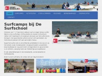 Surfcamps bij De Surfschool in Hoek van Holland