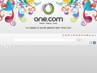 W-creatie.nl - Hosted By One.com | Webhosting made simple