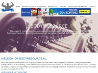 bodyresource - Bodybuilding - Sporten en trainen