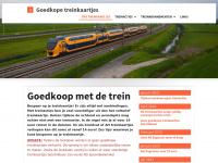 goedkoopmetdetrein.nl