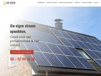 de Hoon Zonnepanelen | Zonnepanelen in Breda e.o.