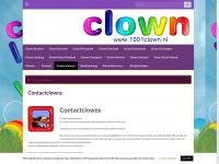 Contactclowns.nl - U zoekt contactclowns in uw omgeving? Vindt hier de clown voor de zorg, ouderen, gehandicapten of dementerenden.
