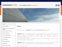 Containerplus.nl - ContainerPlus+ - Home