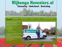 Wijbengahoveniers.nl - Wijbenga hoveniers | Tuinaanleg – onderhoud – bestrating