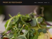 Proefdefeestdagen.nl - Proef de feestdagen- vier het samen in het bourgondische Brabant