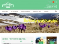 High-tatras.travel - High Tatras - accommodation, information, hotel, pension, B&B, apartments, cottages, group tours, activities, services, news