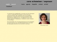 Coraschmeiser.nl - Cora Schmeiser, klassiek zangeres, sopraan, middeleeuwse muziek, renaissance muziek, barokmuziek, modern-klassieke muziek,hedendaagse muziek,stemimprovisatie, voordracht, performance, muziektheater, kameropera, Lenie va ..