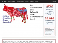 Stichting Erfpachters Belang Amsterdam homepage