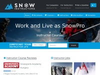 Snowinstructors.info - Snowpro review Community - Instructor course, Ski schools and Instructor Jobs
