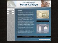 Stukadoorsbedrijf Peter Lahaye, Stein, Limburg
