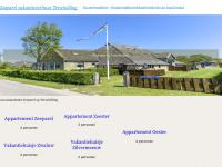 Zeeparel.nl - Zeeparel | Vakantiehuisjes en appartementen op Terschelling in het dorpje Lies