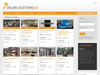 Online-auctions.be - Home | Online auctions