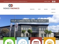 Welkom bij Voicetronics, your connection to the world | Voicetronics