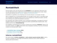 rentabiliteitberekenen.nl