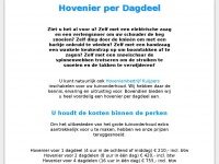 Hovenierperdagdeel.nl - Hovenier per dagdeel in Den Haag