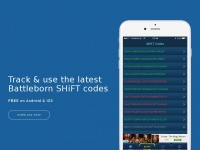 Shiftcodes.nu - SHiFT Codes Mobile Apps