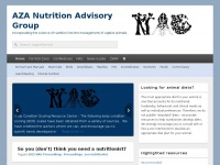 Nagonline.net - AZA Nutrition Advisory Group - Incorporating the science of nutrition into the management of captive animals.