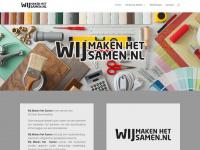 wijmakenhetsamen.nl