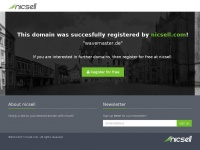 Wavemaster.de - This domain has been registered for a customer by nicsell