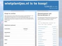 wietplantjes.nl is te koop!