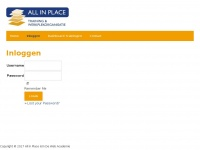 Allinplace-academy.nl - All in Place Academy -