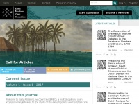 Emlc-journal.org - Early Modern Low Countries