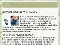 Juwelierdenhulst.nl - Home - Juwelier Den Hulst