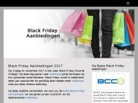 Black Friday Aanbiedingen 2018