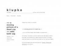 Klupkorooms.wordpress.com - k l u p k o – ROOM(s DAILY ART SITUATIONS