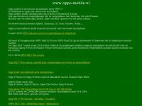 oppo mobile of oppo mobiel www.oppo-mobile.nl telefoon site