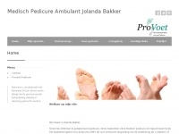 Pedicure ambulant Jolanda Bakker in LISSE
