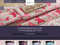 Loopsheidbroekje.nl - Loopsheidbroekje & Co. » Bully Girl // DOG PANTS COMPANY