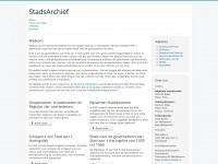 StadsArchief - Home